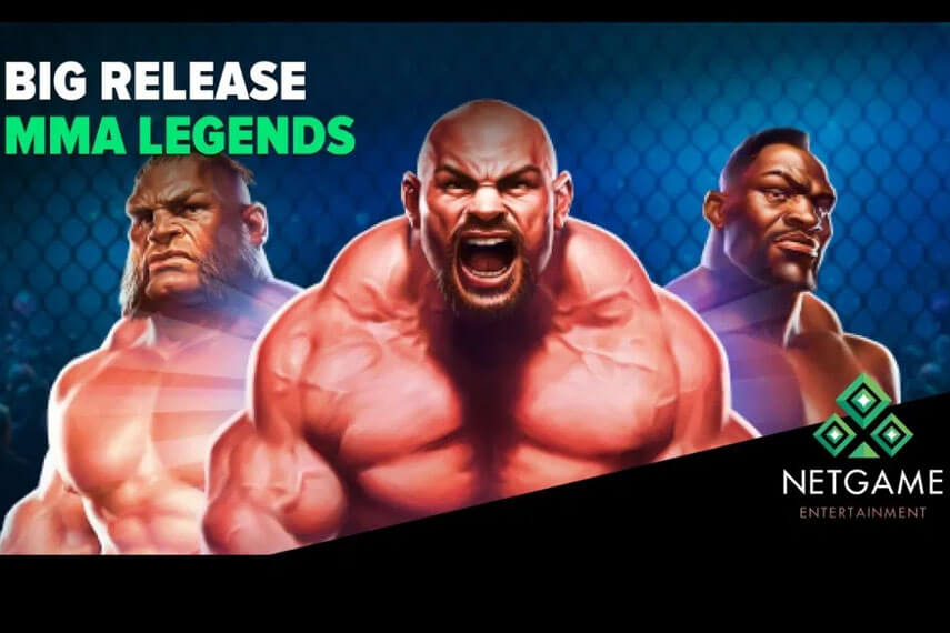 NetGame Entertainment представила слот MMA Legends