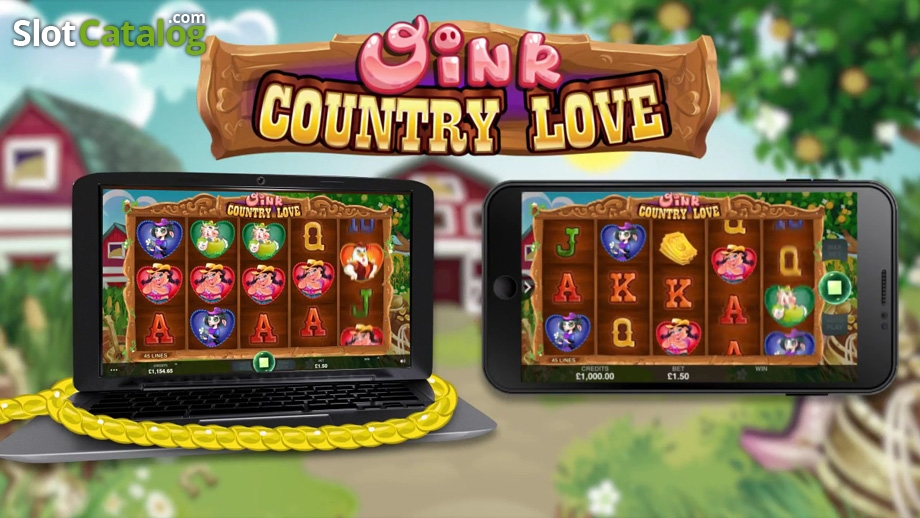 Oink Country Love — кантри-новинка от  Microgaming